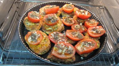 tartines de pain aux tomates