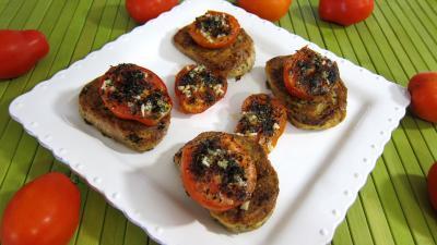 Image : Cuisine catalane - Tartines de pain aux tomates
