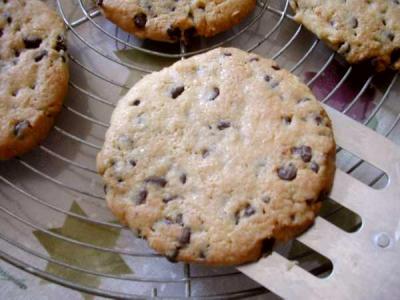 Cookies croustillants aux pépites de chocolat - 9.1