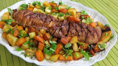 Image : recette Magrets à la maraîchère