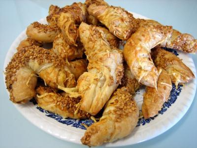 Image : Croissant - Croissants à l'emmental
