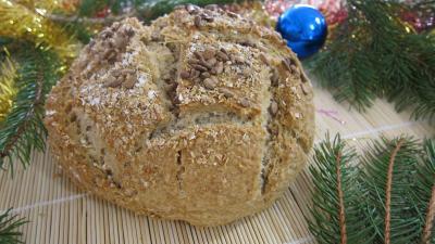 Recette Boule de pain au son d'avoine