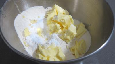 préparation scones
