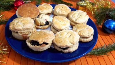 Image : Cuisine anglaise - Assiette de scones