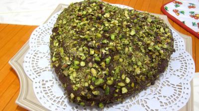 Recette Plat de tôt-fait au chocolat et aux pistaches