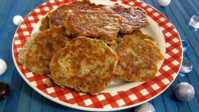 Cuisine diététique : Assiettes de mozzarella en galettes