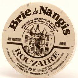 Photo : Boîte de fromage de brie-de-Nangis