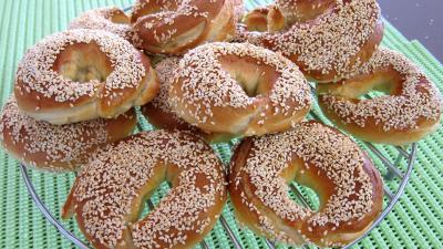 Cuisine juive : Assiette de bagels