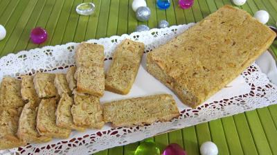 raz el hanout : Plat de biscotti aux cacahètes