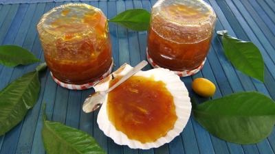 Recette Pot de confiture de kumquat