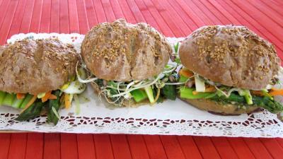 asperge : Plat de pans bagnats aux asperges revisités