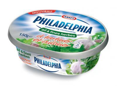 Fromage Philadelphia ail et fines herbes