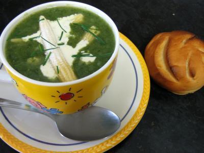 Recette Dans le wok la soupe de dinde aux épis de maïs