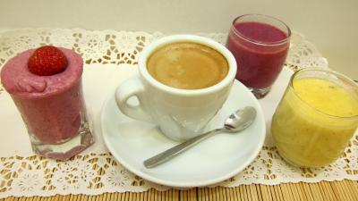 Image : recette Crème glacée aux fruits rouges
