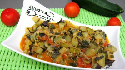 cuisson au vin : Saladier d'artichauts en ratatouille