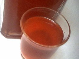 Image : Verre de liqueur de figues