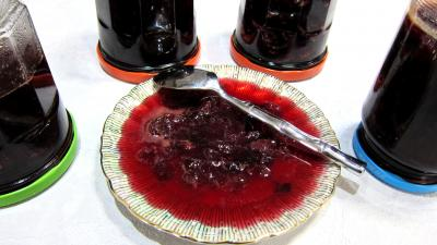 confiture de raisins supertoinette la cuisine facile. Black Bedroom Furniture Sets. Home Design Ideas