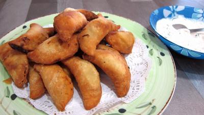 Image : Samoussas - Assiette de samoussas
