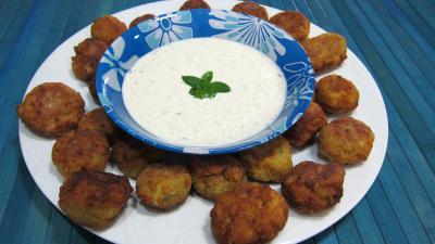 Photo : Koftas de pommes de terre au mascarpone