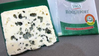 Image : Roquefort - Morceau de roquefort
