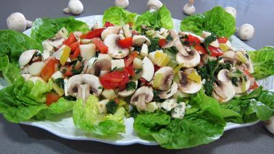 Recette Plat de bettes en salade