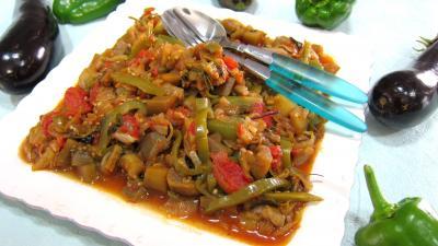 Cuisine mexicaine : Assiette d'aubergines à la mexicaine