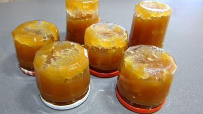Compote de pommes aux raisins secs - 6.3
