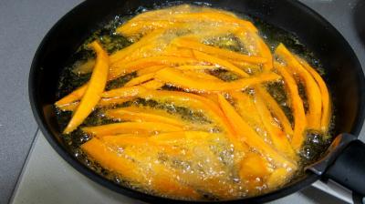 friture potimarron