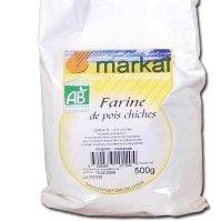 Image : Farine de pois chiche - Sachet de farine de pois chiche