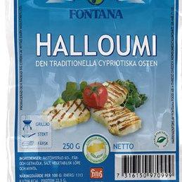 Image : Haloumi, halloom, halloumi, hallum, hellim - Sachet du fromage halloumi
