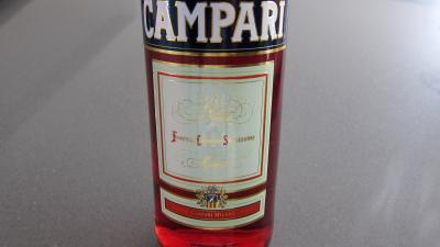 Image : Campari - Bouteille Campari