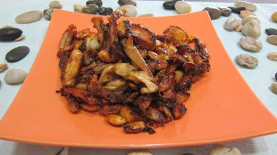 Cuisine chinoise : Assiette de restes de chapon à la chinoise