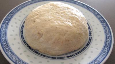 Nouvel an chinois : Assiette de pâte chinoise à la farine de froment