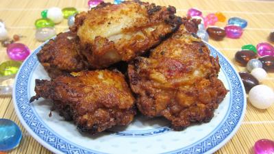 cuisses de poulet frites la chinoise supertoinette la cuisine facile. Black Bedroom Furniture Sets. Home Design Ideas