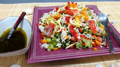 Recettes rapides : Plat de poireaux en salade