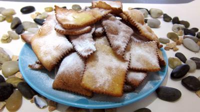 Cuisson au bain de friture : Assiettes de merveilles