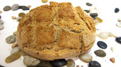 pain complet au sésame