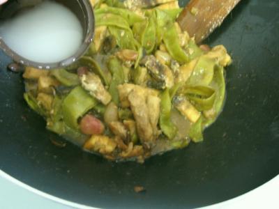 Espadon aux haricots mange-tout façon chinoise - 10.3