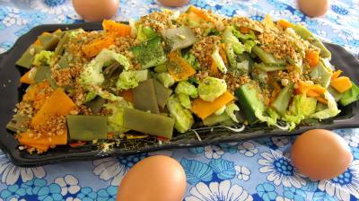Butternut : Plat d'haricots plats en salade