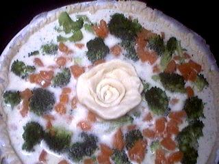 Quiche aux brocolis et saumon - 8.3