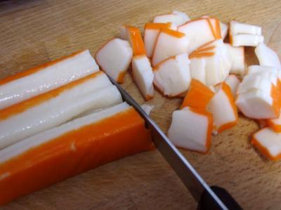 Tagliatelles au surimi - 3.1