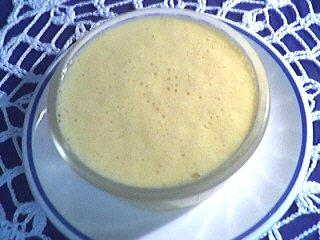 Recette Coupe d'oeufs au lait aux kakis