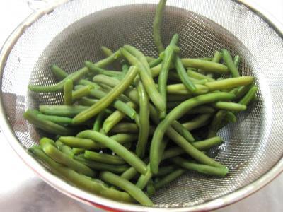 Navets et haricots verts au wok - 4.2