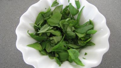 Navets et haricots verts au wok - 8.4