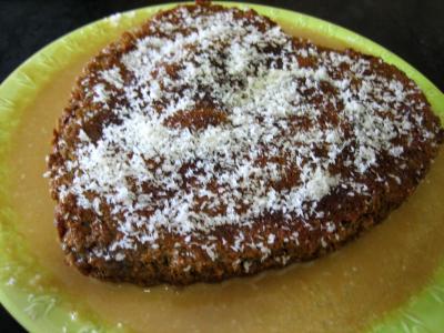 gâteau noix de coco : Gâteau cococitron et sa crème de poire