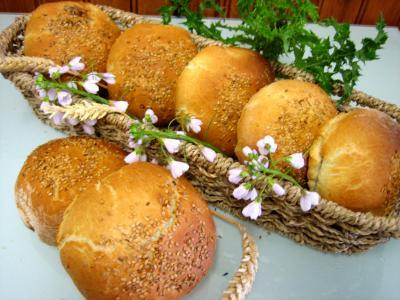 recettes avec garniture : Petits pains farcis à l'oignon et aillettes