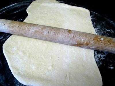 Pizza au poireau en amuse-bouche - 8.3