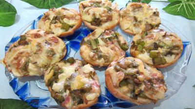 Olive : Assiette de focacia aux poireaux et au reblochon