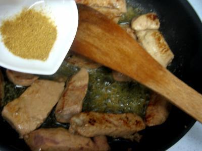Foie de veau aux haricots verts - 6.4