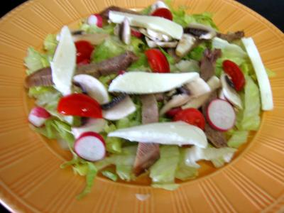 Restes de langue de boeuf en salade - 5.1